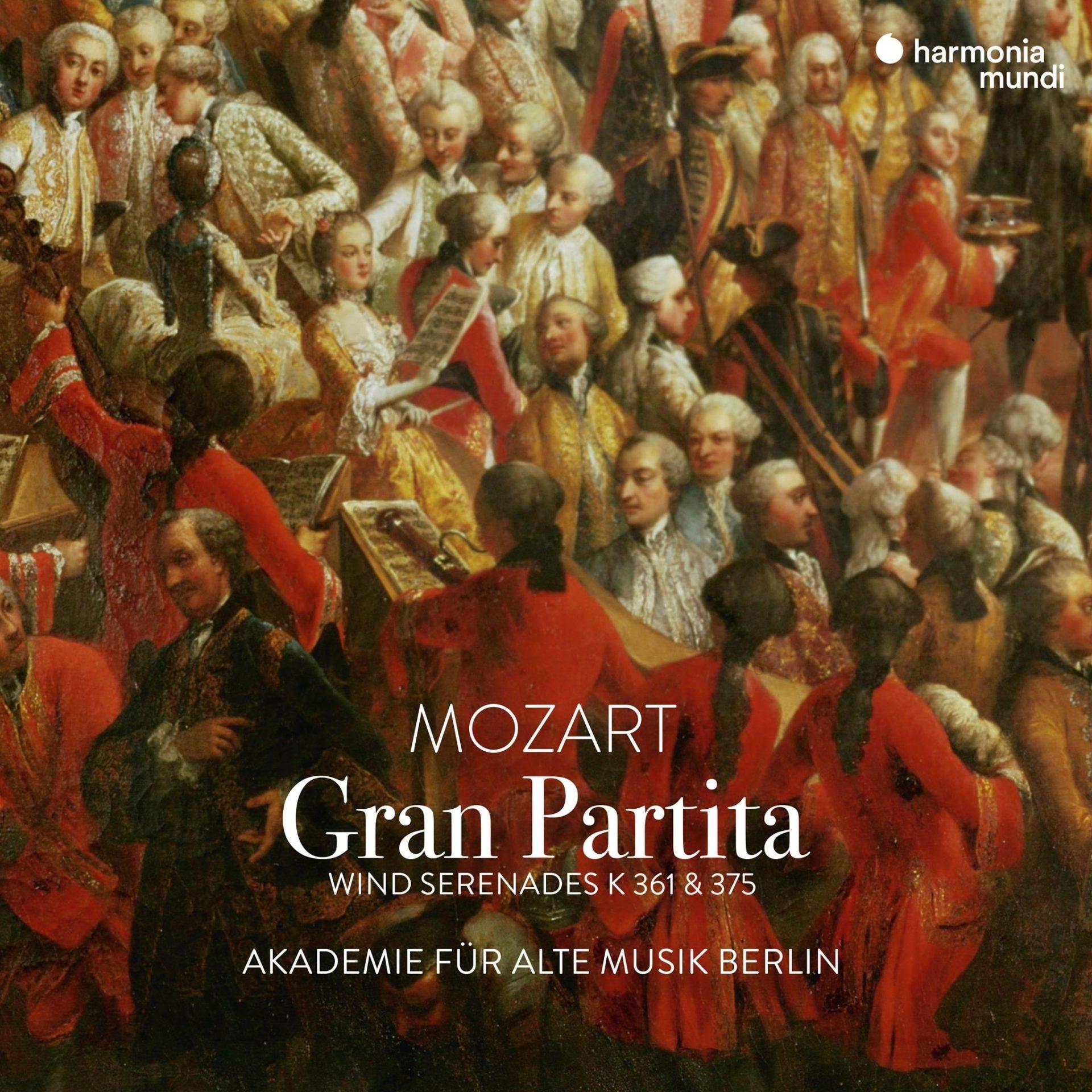 Akamus Gran Partita CD Cover
