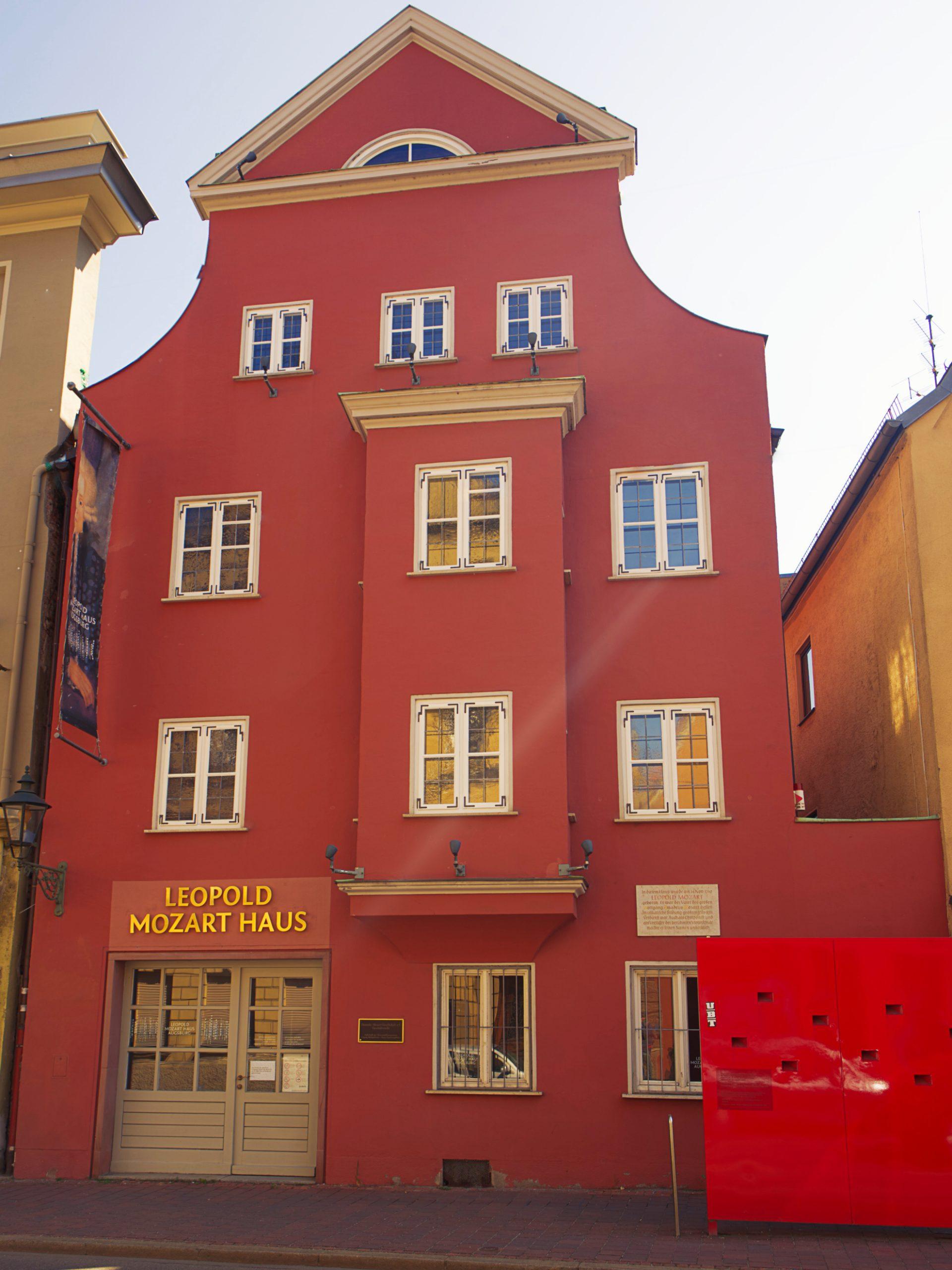 Mozarthaus außen